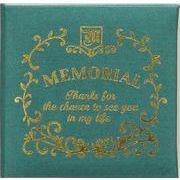 現代百貨 メモリアルメッセージブック ギフト ミニ グリーン