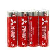三菱(赤)マンガン乾電池 単3 4p