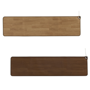 ホットキッチンマット SB-KM180 45×180cm ナチュラルブラウン/ダークブラン