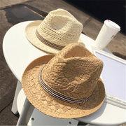 ★春夏新作★ 麦わら帽子 レディース 帽子 UVカット 麦わらハット 紫外線対策 日焼け
