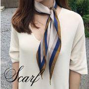BLHW156770◆5000以上【送料無料】◆スカーフ◆菱形 イニシャル 花柄 カラフル