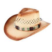 激安☆男女兼用◆ハンドメイド◆UV対策◆日よけ◆麦わら帽子◆ストローハット◆カウボーイ帽◆サンバイザー