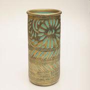 【イタリア製】 陶器かさ立て ブロンズ/グリーン (KPO/96-83T)