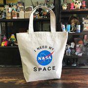 【予約販売】NASA公認トートバッグ・インサイニア(ミートボール)・ナチュラル