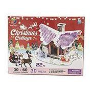 3D Craft model CHRISTMAS SERIES クリスマス・コテージ2