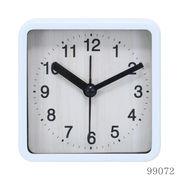 置き時計 ウィル スクエア ホワイト