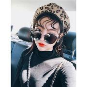 秋冬新発売 韓国風 ベレー帽 レディース 帽子
