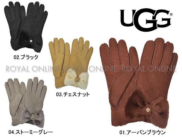 【アグオーストラリア】 17368 ボウ ショーティ グローブ 手袋 全4色 レディー ス