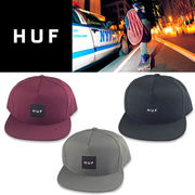 HUF ESSENTAILS BOX SNAPBACK  17446