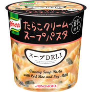 【ケース売り】味の素 クノールスープDELIたらこクリームスープパスタ<豆乳仕立て>(容器入)
