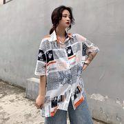 春夏新商730780  大きいサイズ 韓国 レディース ファッション ポロシャツ ワンピース  LL-4L
