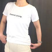 【即納】Tシャツ トップス ロゴT カットソー 白シャツ 2019 春夏新作19ss-031【メール便可】
