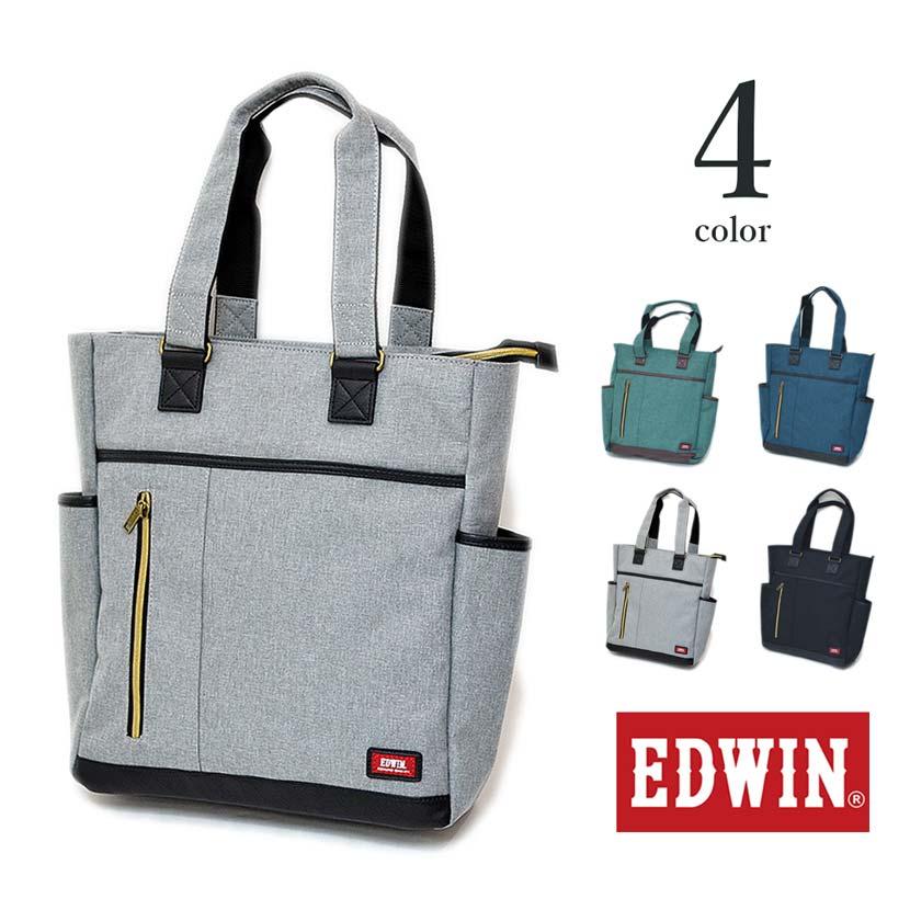 【全4色】 EDWIN エドウイン トートバッグ カバン エドウィン