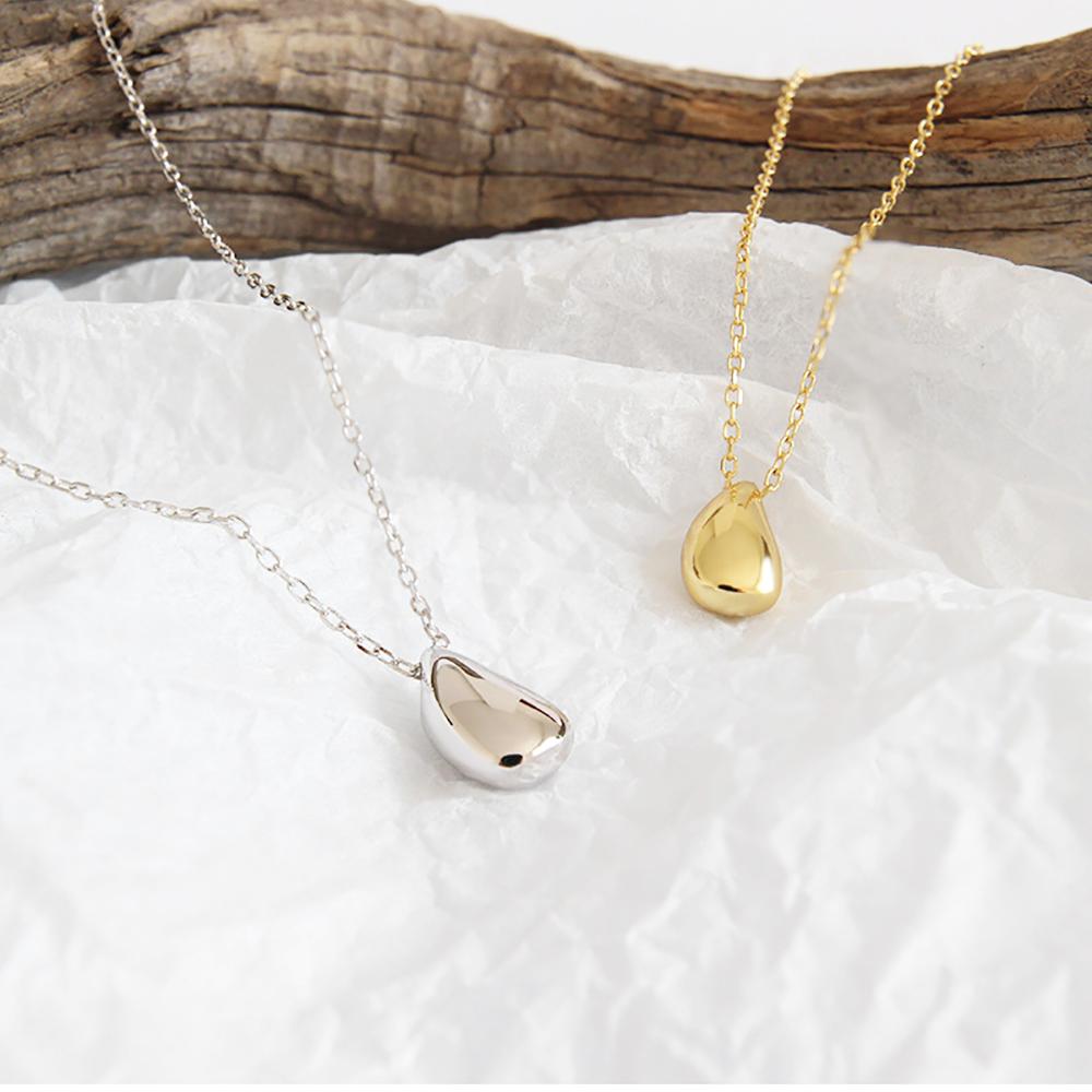 シルバーネックレス s925 sterling silver gold シルバー ゴールド 18金 ◆メール便対応可◆