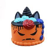激安☆サンプル★スクイーズ★フォーカス玩具squishyストレス解消グッズ★ケーキ ハロウィン かぼちゃ