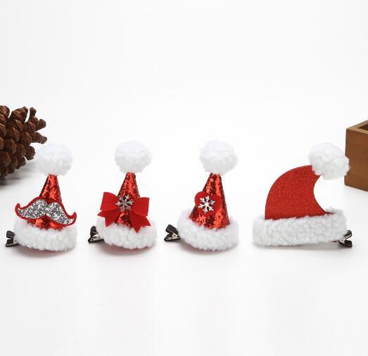 クリスマス飾り 大人 子供 ヘアピン 可愛い 帽子