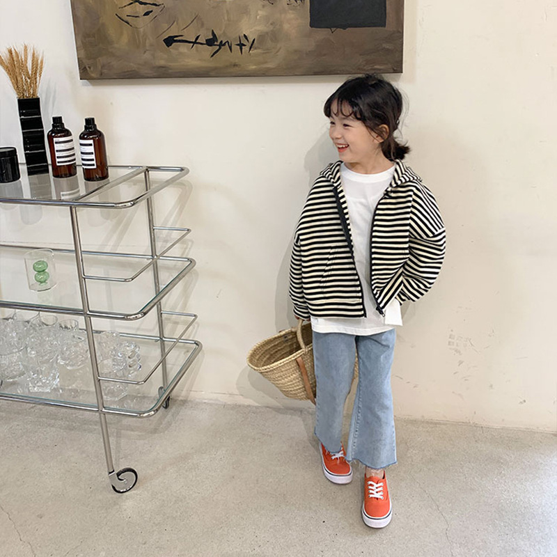 【KID】韓国風子供服 ベビー服  男女兼用 おしゃれ ロングパンツ パンツ デニム