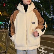 ユニセックス ジャケットボアハイネックカジュアル 大きいサイズ メンズ