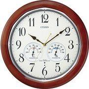 【新品取寄せ品】シチズン電波掛時計「ネムリーナインフォートW」8MY464-006