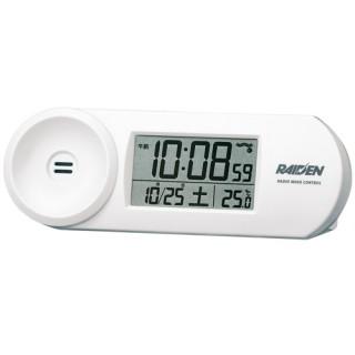 【新品取寄せ品】セイコークロック 電波目覚まし時計 NR532W