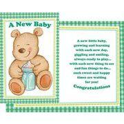 Stockwell Greetings グリーティングカード 出産祝い用 くま×哺乳瓶