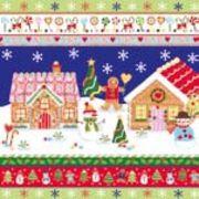 Paw Decor  Collection ペーパーナプキン クリスマス <お菓子の家×ジンジャークッキー>