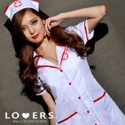 ナース 2点セット B【即納】カチューシャ 看護婦 ナースハット コスプレ コスチューム 衣装 仮装