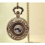 ■懐中時計■  ネックレス時計  12宮
