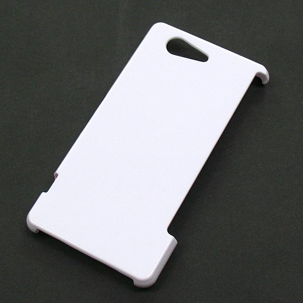 【SO-02G/PC】docomo Xperia Z3 Compact(エクスペリアZ3コンパクト) ホワイト(白色)ハードタイプPC素材