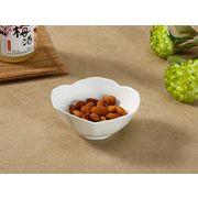 【強化】 桜形小鉢   おうちカフェ/鉢/小皿/小付/珍味入/白食器
