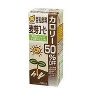 【代引不可】 マルサンアイ 豆乳飲料麦芽コーヒー カロリー50%オフ 200ml(2ケース) 【mraisc】