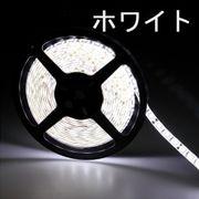 LEDテープライト/3528型チップ/ホワイト/5M/300発/IP44防水