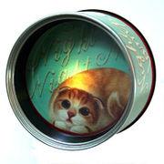【HenryCats&Friends】缶ナイトライト ヘナ ねこ 猫 ライト 照明 インテリア プレゼント ギフト