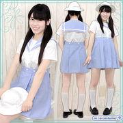 ■送料無料■帝塚山小学校 夏服ワンピース サイズ:M/BIG