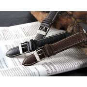 【腕時計 交換用ベルト】本革カーフシュリンクレザー・替えベルト[20mm・22mm×3色] PLCSS25