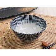 【正統派の藍染の伝統美】 細やか藍染とくさ 特盛もりもりお茶碗