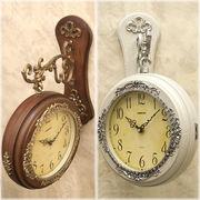 【壁掛時計】ビクトリアンパレス ウォールクロック★両面時計 ボスサイド♪