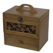 【 木製コスメティックボックス 】 【 クローバーシリーズ 】