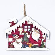<AMANO>【クリスマス】【ウッドハウスデコ】2種