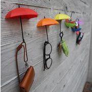 BLHW150128◆5000以上【送料無料】イギリス◆インテリアにぴったりの傘型の壁掛けフック