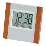 (インテリア・バラエティ雑貨)(デジタル時計)ウッド電波時計 8727