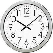 SEIKO セイコー 掛け時計 アナログ 防湿・防塵型 オフィスタイプ 金属枠 KH407S
