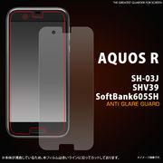 AQUOS R SH-03J/SHV39/605SH用反射防止液晶保護シール