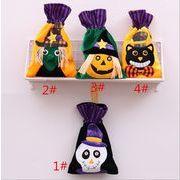 ハロウィン 装飾品 無紡布 ハンドバッグ 子供 祝日 かぼちゃ プレゼントの袋 パーティー