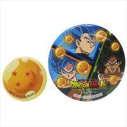 【缶バッジセット】ドラゴンボール超 ブロリー/缶バッジ大小2個セット/分割