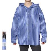 ビッグフードオーバーシャツ/sb-590135