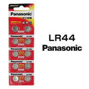 パナソニック アルカリボタン電池 LR44 10個セット 1シート 日本メーカー 逆輸入