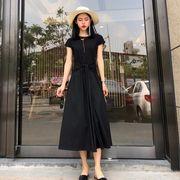 第1 番 ピープル ホーム 女性服 新しいデザイン ひもあり 半袖 着やせ 着やせ 小