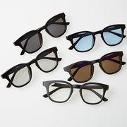 ウェリントン ミラー サングラス メンズ レディース 伊達 メガネ ウエリントン 眼鏡 めがね UVカット