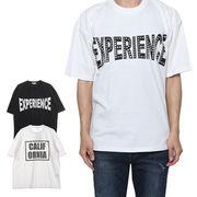 ラインストーンプリントビッグTシャツ/sb-295779